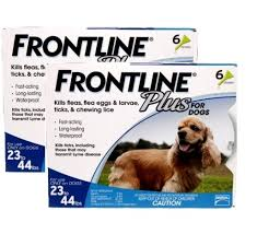 frontline for puppies. Frontline Plus For Medium Dogs 23-44lbs - 12 Pack Puppies