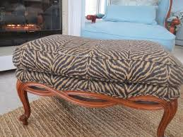 round zebra ottoman reclining and rocking plush over stuffed bonded leather chair recliner black classon glass