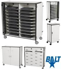 all mobile laptop cart charging station by balt options computer