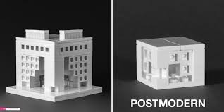 lego office building. Postmodern Office Building As Featured In The LEGO Architect (left) And Nanoscale ( Lego T