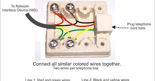 fix your home telephone jack how to wire it