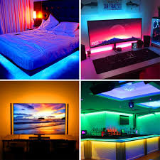 Led Light Strips For Room Details About Led Strip Usb Battery Powered Tv Decking Kitchen Flexible Rgb Rope Light 1 5m