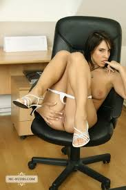 Monika Vesela office on fire in the pussy Porn Pics