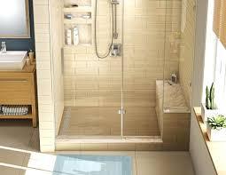 how to tile shower walls beige tiled shower tile shower walls or floor first