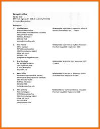 Reference Page Of Resume Reference Page On A Resume Apa 24 Sample How To Write For Job 24