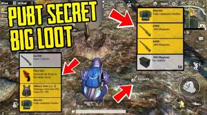 You would be killed if you are not careful. Pubg Mobile Secret Loot Location Big Loot New Hidden Place In Erangel Map Youtube