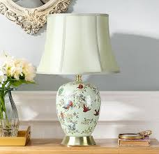 deluxe ceramic table lamps for bedroom getting artistic atmosphere easily awesome chinese nuance on ceramic