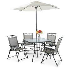 deluxe outdoor patio dining set 6 piece