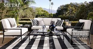 white metal outdoor furniture. Metal Furniture White Outdoor