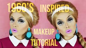 1960 s inspired makeup tutorial