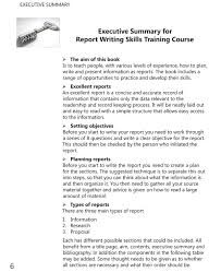 report writing skills training course book author dr margaret  report writing executive summary example
