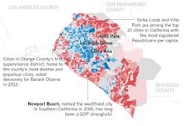Presidental Election Results For The First Time Since Franklin D Roosevelt A Majority In Orange
