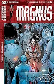 Magnus #3 (English Edition) eBook: Higgins, Kyle, Sitterson, Aubrey,  Fornés, Jorge, Burnett, Dylan: Amazon.es: Tienda Kindle