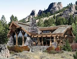 Log Home Design Plan And Kits For Big SkyLarge Log Cabin Floor Plans