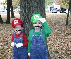 mario bros costumes with sound effects