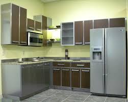 Green Kitchen Cabinet Doors Kitchen Stainless Steel Kitchen Cabinet Doors Uk Stainless Steel