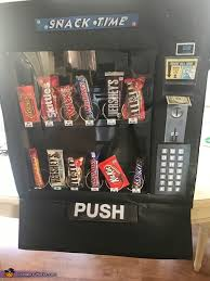 Drink Time Vending Machine Adorable Snack Time Vending Machine Costume Photo 4848