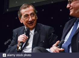 Roma, Italy. 12th Oct, 2021. Beppe Sala during The mayor of Milan, Beppe  Sala, meets the candidate for president of the second municipality of Rome  and the candidate for mayor of the