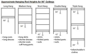 Standard Height For Coat Rack standard measurements for clothing shelves Google Search Pinteres 51