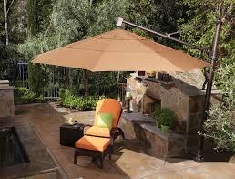 10 ft offset umbrella costco cantilever umbrella 11 ft patio umbrella