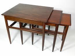 mid century modern nesting tables