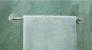 towel bar shower door