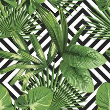 Tropical Pattern Wallpaper