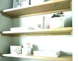 rustic white floating shelves wonderful bed bath and beyond chunky shelf oak w distressed wood wash