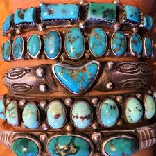 valentine s day stack from shiprock santa fe heart shaped turquoise stone