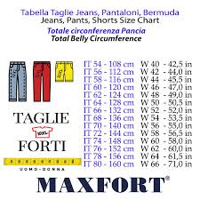 Azalea Size Chart Maxfort Short Man Outsize Trousers Item Azalea Red