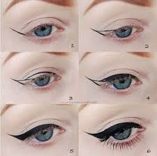 get this look ultra dramatic cat eye eye makeup for blue eyes how you