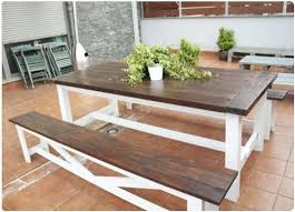 wooden outdoor furniture painted. Wooden Outdoor Table Dining Paint Or Stain - Google Search Furniture Painted R