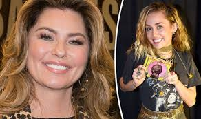 Miley Cyrus Album Charts Shania Twain Beating Demi Lovato And Miley Cyrus In Us