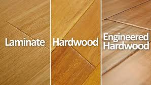 hardwood vs laminate vs engineered