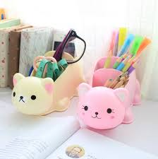 hot cute cartoon desk organizer desk accessories organizer jewellery storage box china mainland