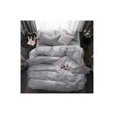 2018 winter modern style bedding set polyester duvet cover set flat sheet pillowcase twin full queen king bed set 3 4 pcs color 1 size twin 3pcs 150by200