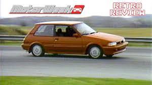 Retro Review: 1987 Toyota Corolla FX16 - YouTube