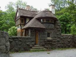 fairy tale house plans with stone wall