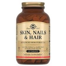 «Витамины <b>Solgar Кожа</b>, <b>ногти и</b> волосы, улучшенная формула с ...