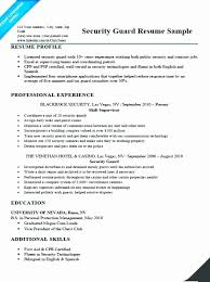 Ship Security Officer Sample Resume Extraordinary Sample Resume For Security Officer In India Inspirational Security
