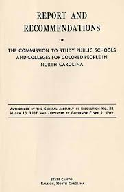 Report Cover Page Fascinating Commission To Study Public Schools And Colleges For Colored People