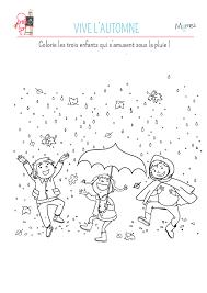 Coloriage Vive Les Feuilles D Automne Momes Net