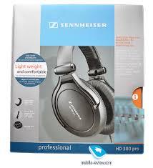 Mobile-review.com Обзор <b>наушников Sennheiser</b> HD 380 PRO