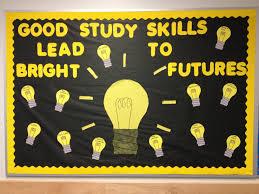 study skills bulletin board different study skills are written study skills bulletin board different study skills are written onto the small light