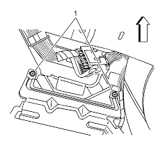 6 remove the center console end panel refer to center console end panel replacement 7 disconnect the audio lifier electrical connectors