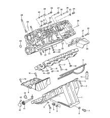 porsche engine diagrams porsche 944 parts crankcase 87 mounting parts
