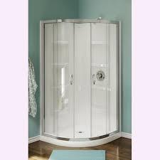 corner shower stalls. Nevada 38 Inch Pure Acrylic Neo Round Corner Shower Stalls For Bathroom Design Ideas