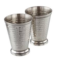 stainless steel mint julep cups 2 pack
