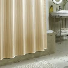 nice stripe fabric extra long shower curtain liner with chrome console vanity added storage as well as rectangle tubs in modern small bathroom remodeling