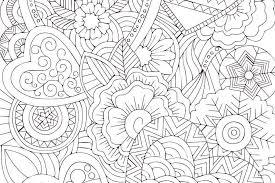 ファンタジーなハートの塗り絵無料ダウンロード印刷 折り紙japan